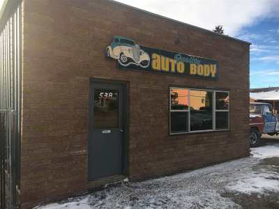 Custer Commercial For Sale: 538 Crook