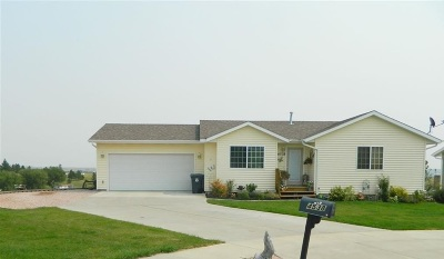Rapid City Single Family Home Uc-Contingency-Take Bkups: 4538 Titan Dr