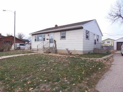 Belle Fourche SD Single Family Home For Sale: $93,000