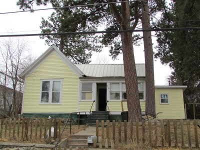 Deadwood, Deadwood/central City, Lead Single Family Home For Sale: 819 Upper Addie