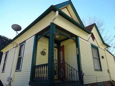 Deadwood Single Family Home For Sale: 839 Main Street