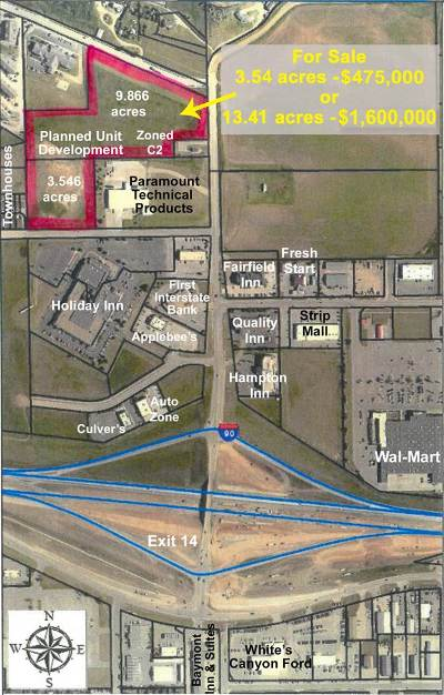Spearfish Commercial For Sale: Paramount Drive Lot 2r-1&2