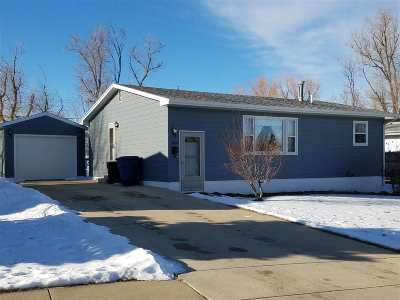 Belle Fourche SD Single Family Home Uc-Contingency-Take Bkups: $144,500