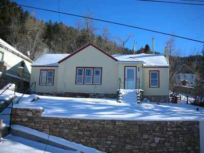 Deadwood SD Single Family Home For Sale: $129,332