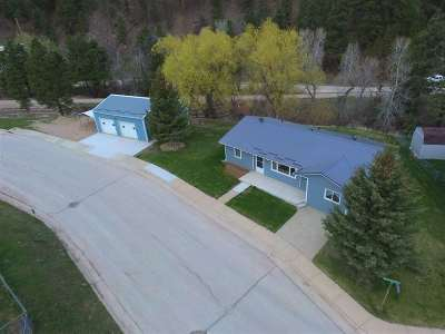 Deadwood SD Single Family Home For Sale: $215,000