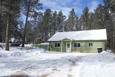 Custer SD Single Family Home For Sale: $163,000