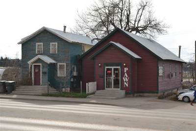 Belle Fourche Commercial For Sale: 836 5th