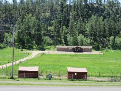 Custer Single Family Home Sale Of Prop Contingency: 12541 Us Hwy 16a