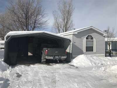 Spearfish Single Family Home Uc-Contingency-Take Bkups: 1115 Spearfish Mountain