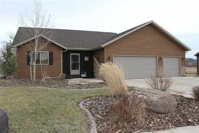 Spearfish SD Single Family Home Uc-Contingency-Take Bkups: $364,900