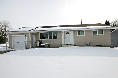 Sturgis SD Single Family Home Uc-Contingency-Take Bkups: $151,900