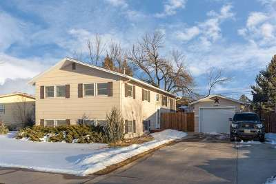 Rapid City Single Family Home Uc-Contingency-Take Bkups: 2935 Lanark Rd