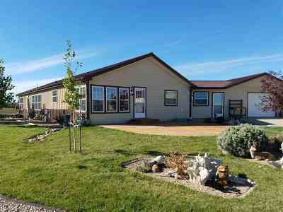 Belle Fourche Single Family Home For Sale: 19037 Robinson
