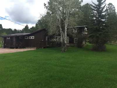 Custer Single Family Home For Sale: 25250 Lower French Creek