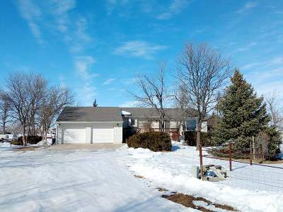 Belle Fourche Single Family Home Under Contract-Dont Show: 2231 Willow Creek