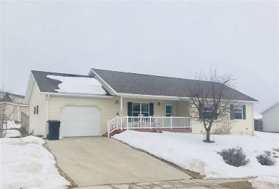 Spearfish Single Family Home Uc-Contingency-Take Bkups: 1019 S 35th