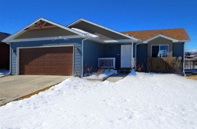 Spearfish Single Family Home Uc-Contingency-Take Bkups: 3915 Gallatin Avenue