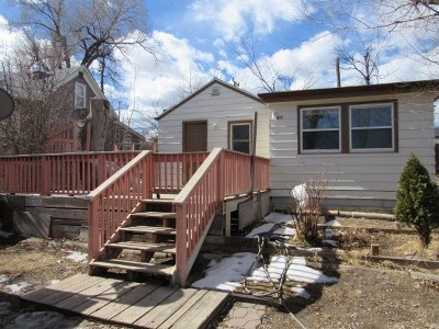Rapid City Single Family Home Under Contract-Dont Show: 817 Wood Ave.