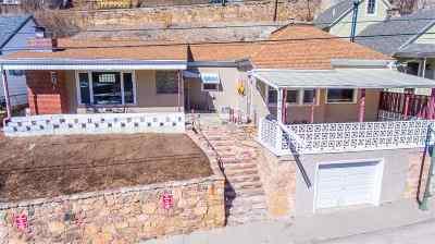 Deadwood SD Single Family Home For Sale: $182,000