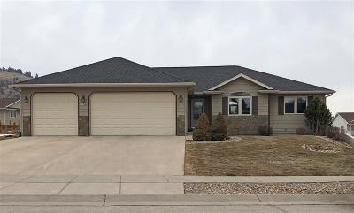 Spearfish Single Family Home Uc-Contingency-Take Bkups: 1754 Iron Horse