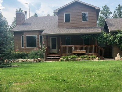 Rapid City Single Family Home For Sale: 7925 Meadow View Court