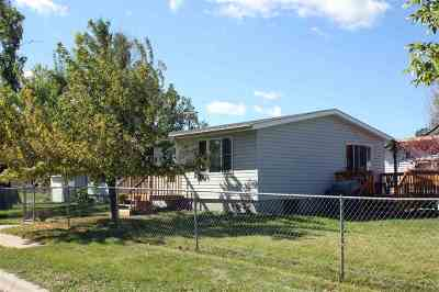 Sturgis Single Family Home Uc-Contingency-Take Bkups: 703 8th