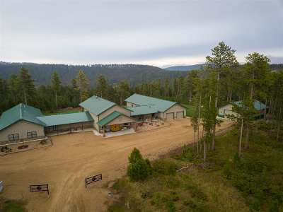 Deadwood, Lead Single Family Home For Sale: 12032 Sacred Mountain