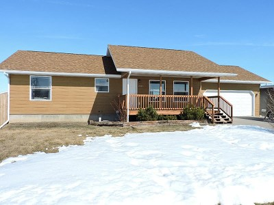 Belle Fourche Single Family Home Uc-Contingency-Take Bkups: 1521 Dacar