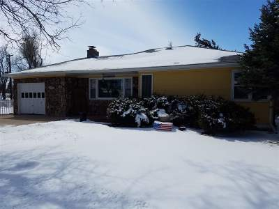 Belle Fourche Single Family Home Uc-Contingency-Take Bkups: 1602 10th