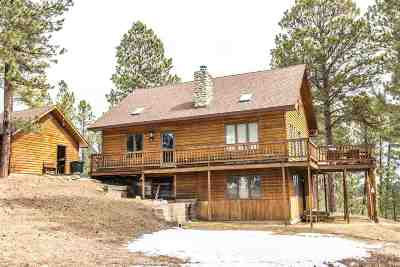 Deadwood, Lead Single Family Home For Sale: 21374 Snowshoe