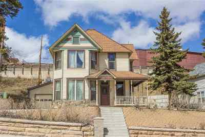 Deadwood, Lead Single Family Home For Sale: 840 W Main