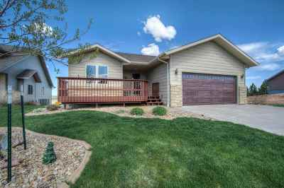 Spearfish, Deadwood/central City, Deadwood, Strugis, Whitewood, Belle Fourche, Spearfish Canyon Single Family Home For Sale: 425 Tranquility