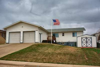 Spearfish SD Single Family Home For Sale: $224,900