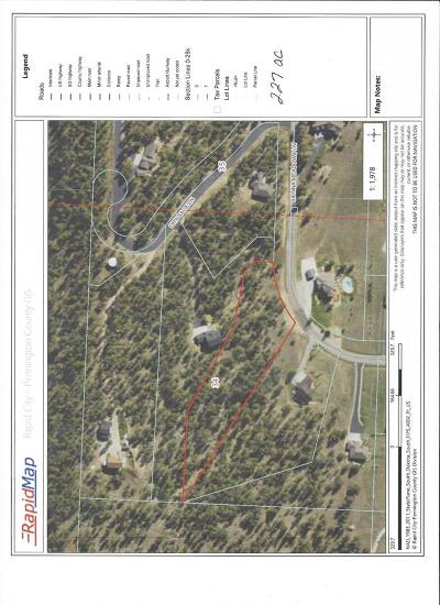 Rapid City Single Family Home For Sale: Lot 5r Block 3 Sienna Meadows