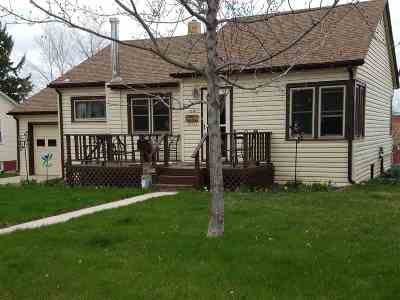 Belle Fourche Single Family Home For Sale: 1119 Omaha