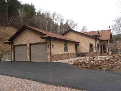 Deadwood Single Family Home For Sale: 1 Railroad