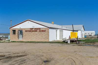 Belle Fourche Commercial For Sale: 18651 W Livestock
