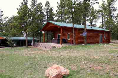 Hot Springs Single Family Home For Sale: 26666 Buffalo Butte Drive