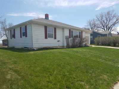 Belle Fourche Single Family Home Uc-Contingency-Take Bkups: 1709 12th