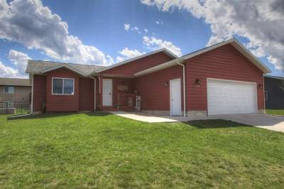 Spearfish SD Single Family Home Sale Of Prop Contingency: $255,000
