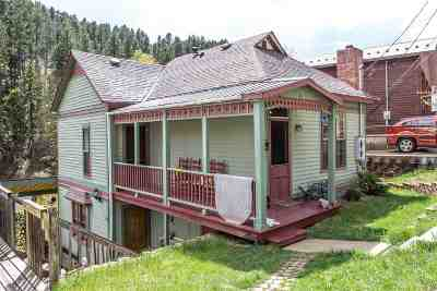 Deadwood SD Single Family Home For Sale: $145,000