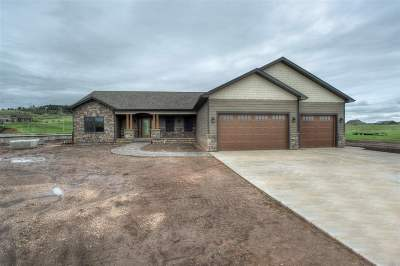 Spearfish Single Family Home Uc-Contingency-Take Bkups: 7816 Duke Parkway