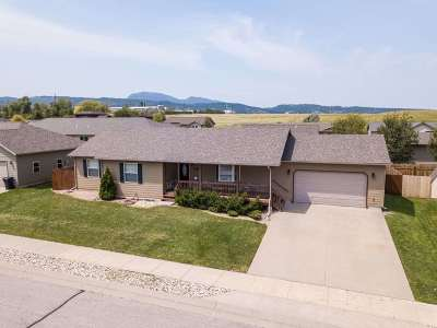 Spearfish Single Family Home Uc-Contingency-Take Bkups: 1905 Sugar Creek Place