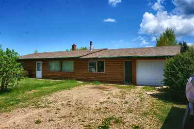 Spearfish Single Family Home Sale Of Prop Contingency: 10 Pioneer Lane