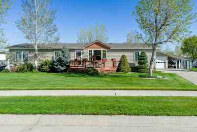 Single Family Home For Sale: 1115 Crow Peak