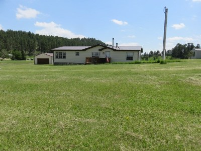 Custer County Single Family Home For Sale: 12407 Hazelrodt Cutoff