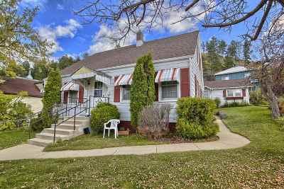 Deadwood Single Family Home For Sale: 43 Stewart