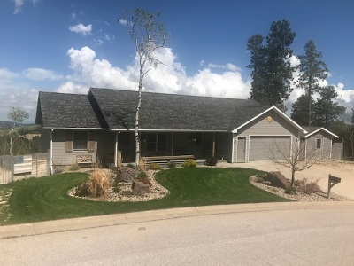 Deadwood, Lead Single Family Home For Sale: 348 Mountain View Drive