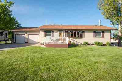 Sturgis Single Family Home Under Contract-Dont Show: 1814 Butte View
