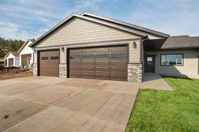 Sturgis Single Family Home For Sale: Lot 11b Canyon View Court